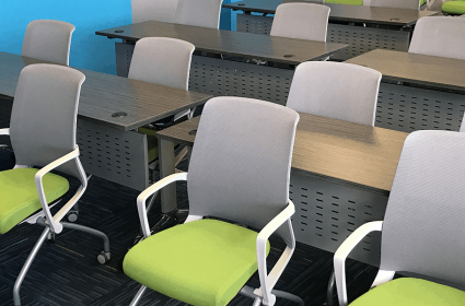 Create a Beautiful Workspace – Bright Colors and Happy Employees