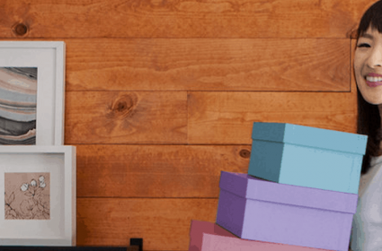 Workspace tips that spark joy